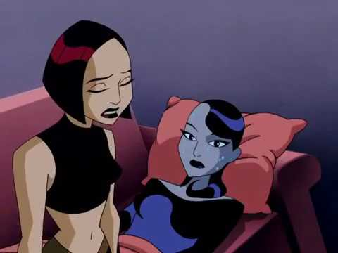 Batman Beyond Inque visits her daughter