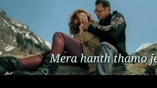 Selfish Song Karaoke hindi with Lyrics from Race 3 movie 2018, Salman Khan