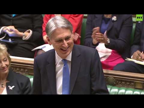 Budget banter from 'Spreadsheet Phil' as chancellor mocks May, Clarkson & the Scots