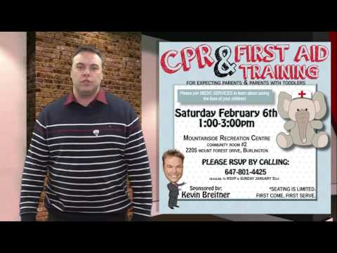 Free First Aid Training Course - Kevin Breitner