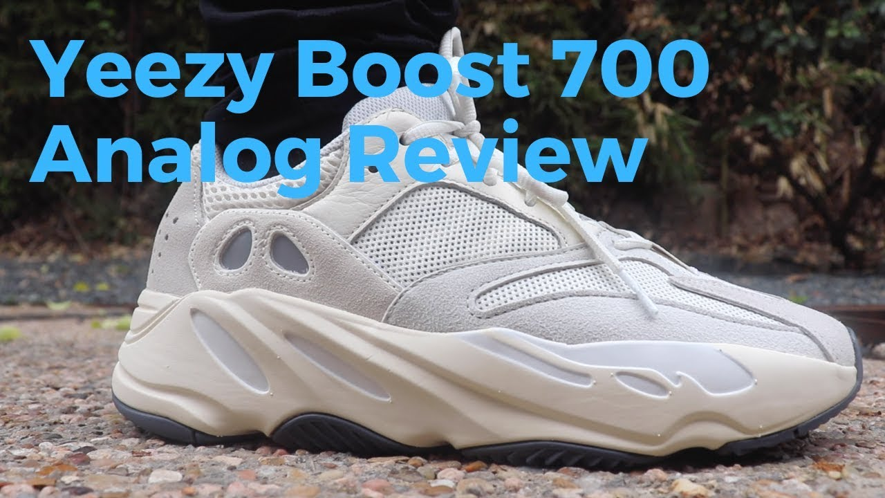fe219313812f6 Adidas Yeezy Boost 700 Analog Review   On Feet - YouTube