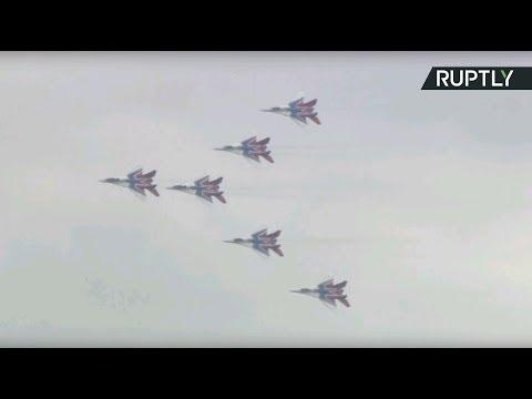 Выступление авиации на форуме «Армия-2018» — LIVE