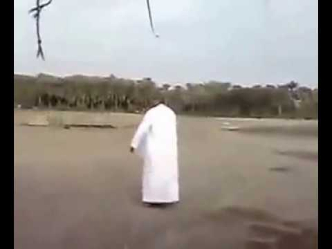 dubai person with goat dancing