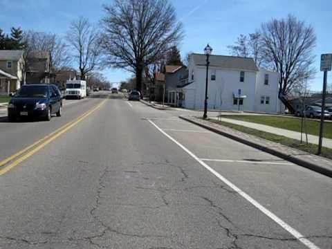 Ride through downtown Pickerington, Oh
