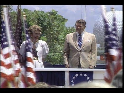 Past US Presidents visit Walt Disney World - Nixon, Carter, Ford, Reagan, Bush