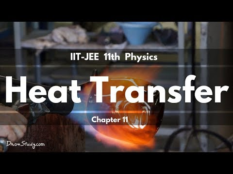 Heat Transfer for IIT-JEE Physics | IIT Class 11 XI | Basic Physics Video Lecture in Hindi