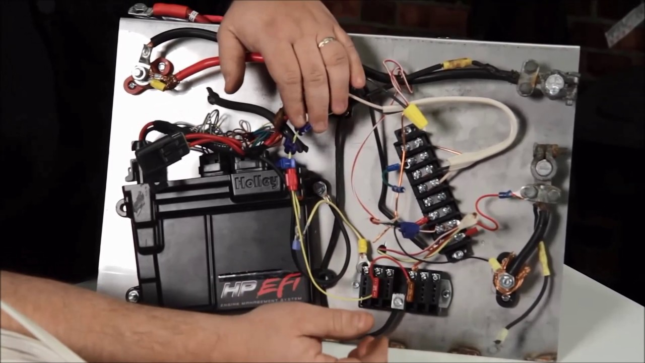 Holley EFI wiring Do's and Don'ts!!! on