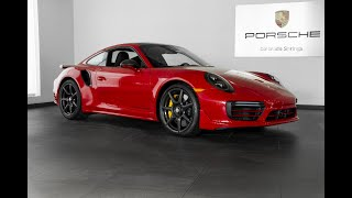 The Enthusiast Episode 3: 2019 Porsche 911 Turbo S Carmine Red with Carbon Fiber Wheels