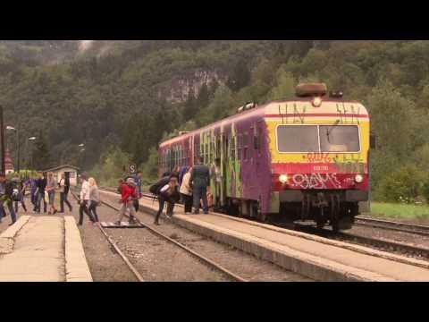 Rail Away: Slovenië (Bled - Nova Gorica)