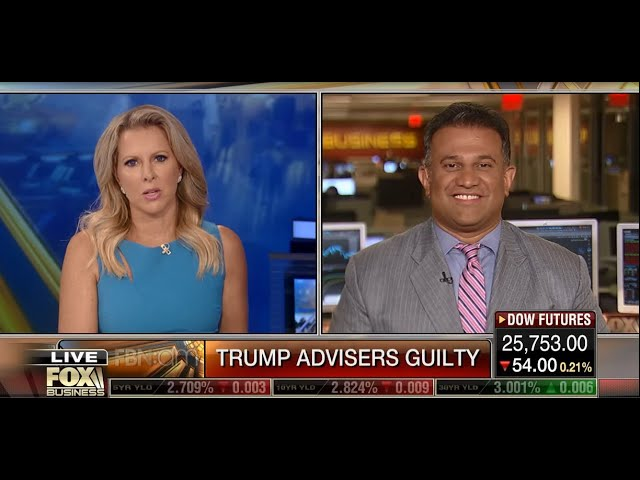 Fox Business News: Does a Guilty Plea to Dirty Campaign Money Affect Trump?