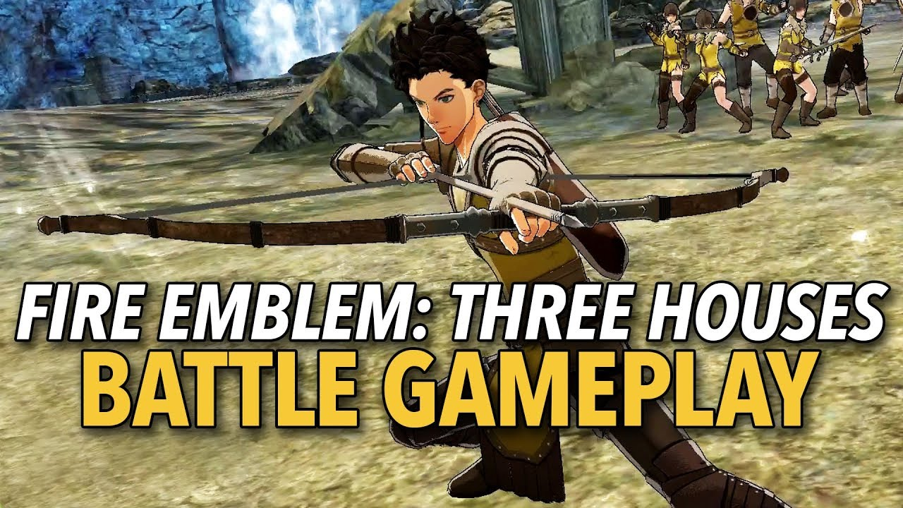 Fire Emblem: Three Houses | Battle Gameplay Impressions