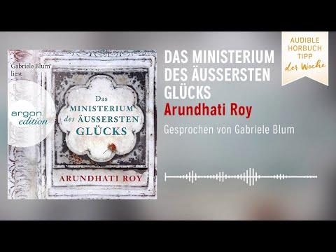 Das Ministerium des äußersten Glücks YouTube Hörbuch Trailer auf Deutsch