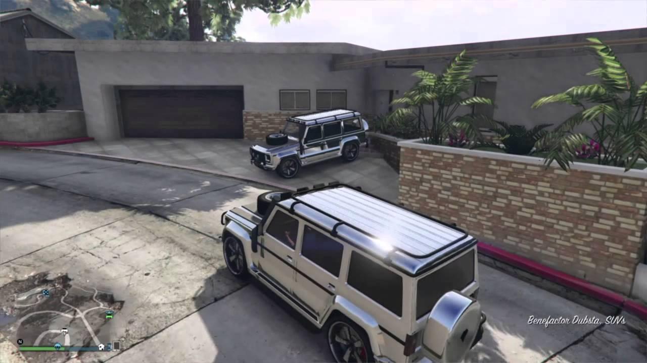 gta 5 online rare car location chromegold dubsta