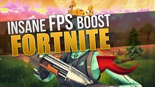 How to get INSANE FPS BOOST in FORTNITE! Tips & Tricks (Tutorial) [ENGLISH]