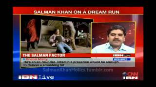 IBNLive - Rajiv Masand can't Deny Super Fan Power of Salman Khan **HD Video**