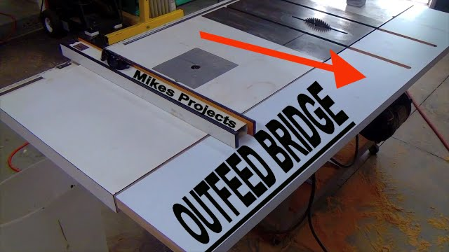 Make An Outfeed Bridge For Contractor Table Saw Craftsman