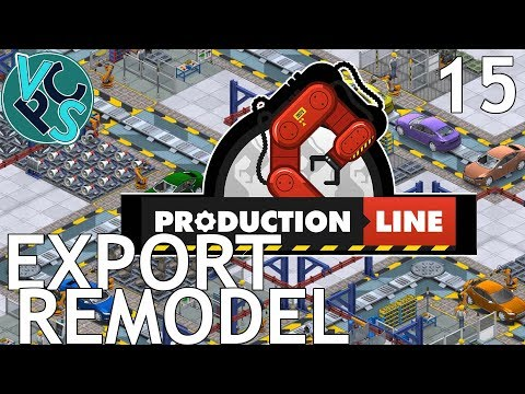 Export Remodel : Let's Play Production Line EP15 - Alpha 1.31 Manufacturing Tycoon Gameplay