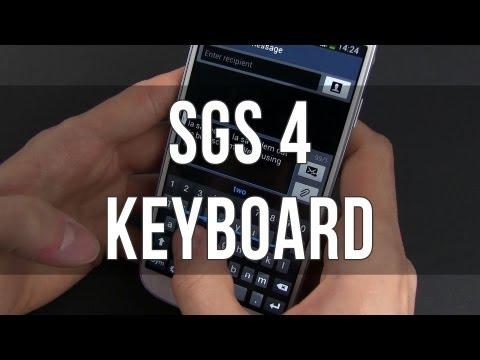 Samsung Galaxy S4 keyboard - Swiftkey, text prediction, texting