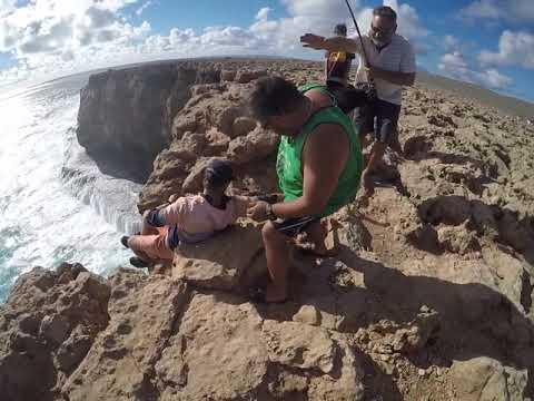 Cliff fishing, Steep Point, Part 2