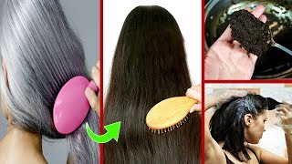 Turn White Grey Hair into Dark Black Forever - Homemade Natural Hair Dye Urdu Hindi