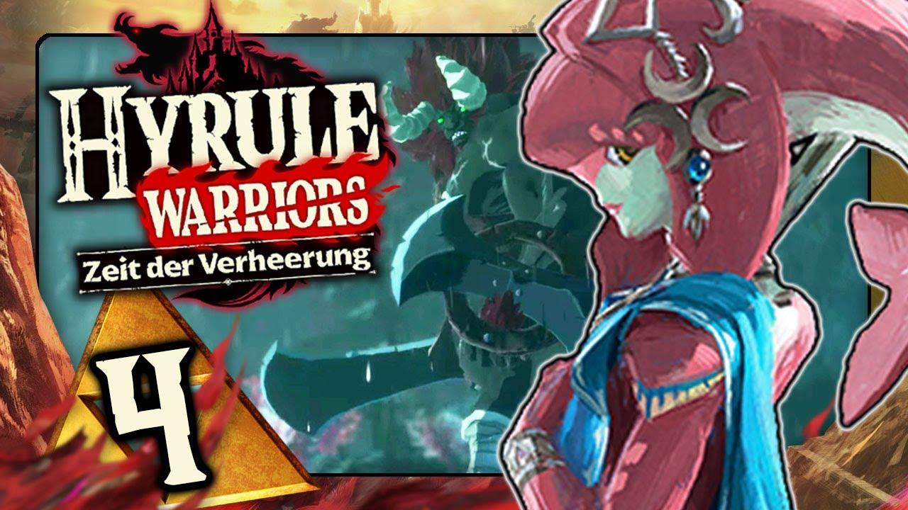 Hyrule Warriors Zeit Der Verheerung 4 Leunen Kampf Im Zora Reich Mit Recke Mipha Youtube