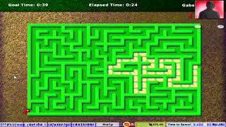 Hoyle Puzzle and Board Games 2009 - Maze Racer (All Difficulty Levels)