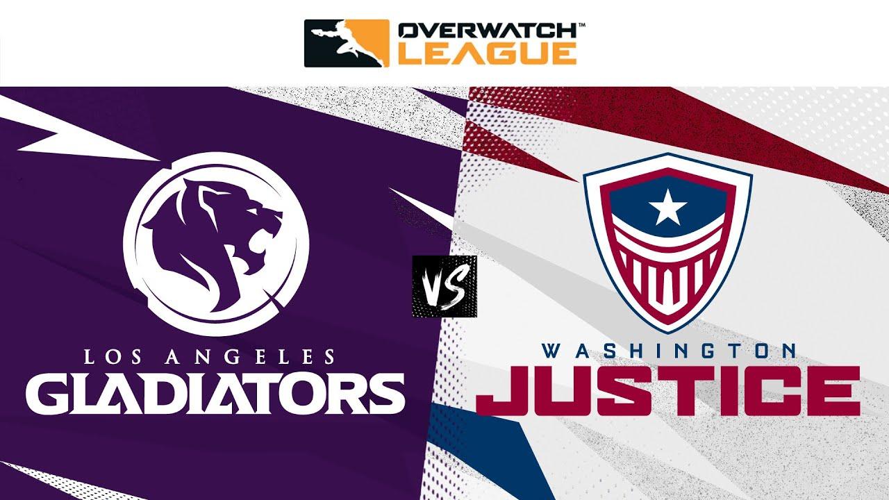@LA Gladiators  vs @Washington Justice | Countdown Cup Qualifiers | Week 1 Day 3 — West
