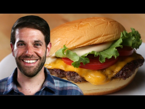 How to cook a burger like shake shack
