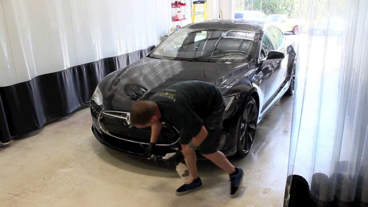 Download Stealth Mode Activate: Tesla Model S wrapped at NWAS