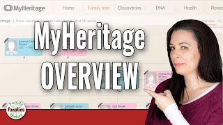 A Newbie's Guide to the MyHeritage Website -  Explore New Features