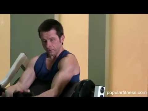 Biceps Curl On HammerStrength Machine