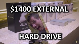 $1400 External Drive and Mirror from Seagate! - CES 2016