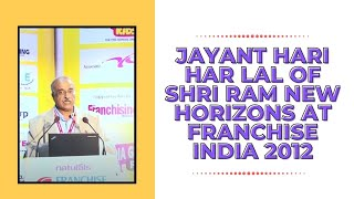 Jayant Hari Har Lal of Shri Ram New
