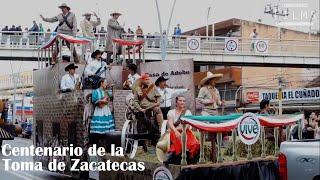 """Parte del desfile """"Centenario de la Toma de Zacatecas"""""""