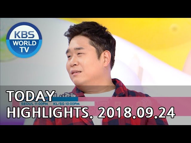 Today Highlights-Love To The End E34/Sunny Again Tomorrow E87/Hello Counselor[2018.09.24]