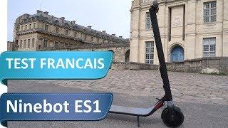 Test de la Segway Ninebot ES1 (Alias Trottinette électrique Ninebot No. 9)
