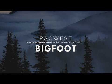 Pacwest Bigfoot Interview - Meet Dave & His Bigfoot Experience In Santa Cruz California...
