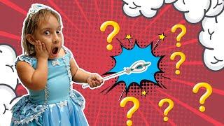 Maria Clara encontrou uma varinha mágica para crianças - MC Divertida