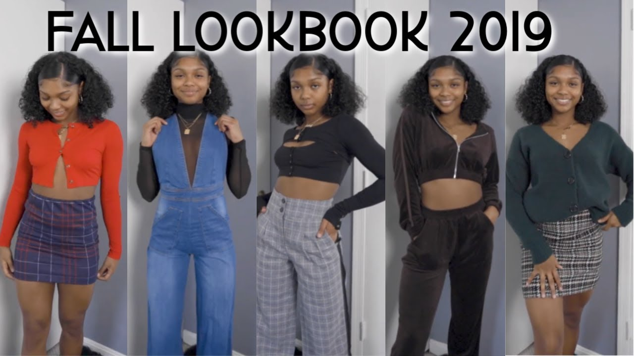 [VIDEO] - FALL LOOKBOOK 2019 | 5 OUTFIT IDEAS! 1