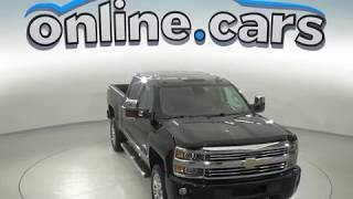 A97639XP Used 2016 Chevrolet Silverado 2500HD Crew Cab Black Test Drive, Review, For Sale