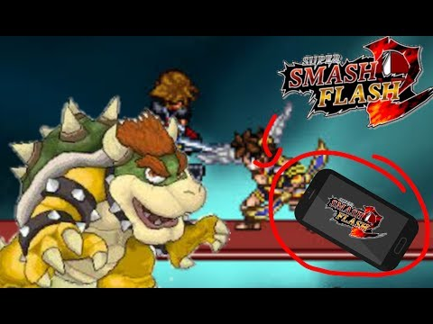 HOW TO PLAY SSF2 BETA ON YOUR PHONE📲 ! Android Tutorial on Super Smash  Flash 2 Beta