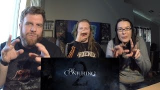 """""""The Conjuring 2"""" Trailer Reaction - The Horror Show"""