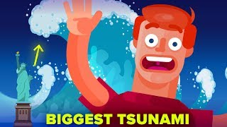Giant Tsunami More Than 6 Times Bigger Than Statue Of Liberty