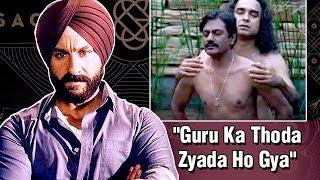 Saif Ali Khan NOT HAPPY With Sacred Games 2?   LehrenTV
