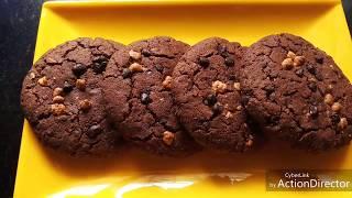 Ragi Chocochip cookies - Gluten free | Original recipe ( Recipe # 191)