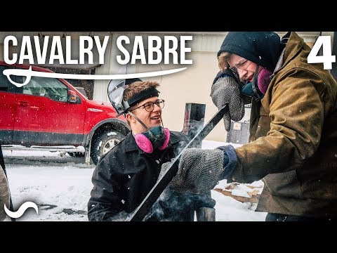 MAKING THE CAVALRY SABRE: Part 4