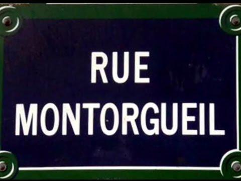 Rue Montorgueil Paris Arrondissement  1er, 2e
