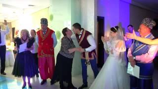Козаки на свадьбе! Вручение дипломов родителям. Ведущая - Оксана Краснобаева