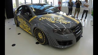 VOLKSWAGEN VW PASSAT R36 B6 SEDAN 3C ! WRAP TUNING SHOW CAR ! ETA BETA WHEELS ! WALKAROUND !