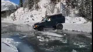 LC80 Frozen River Crossing - Jec Episodes Shorts
